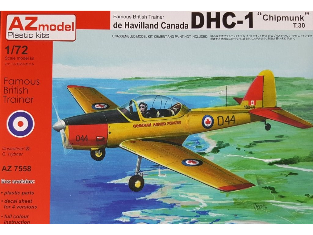 1/72 DHC-1 Chipmunk T.30
