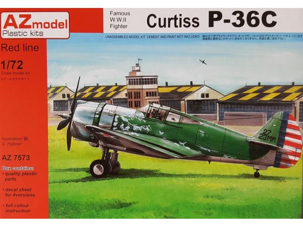 1/72 Curtiss P-36C