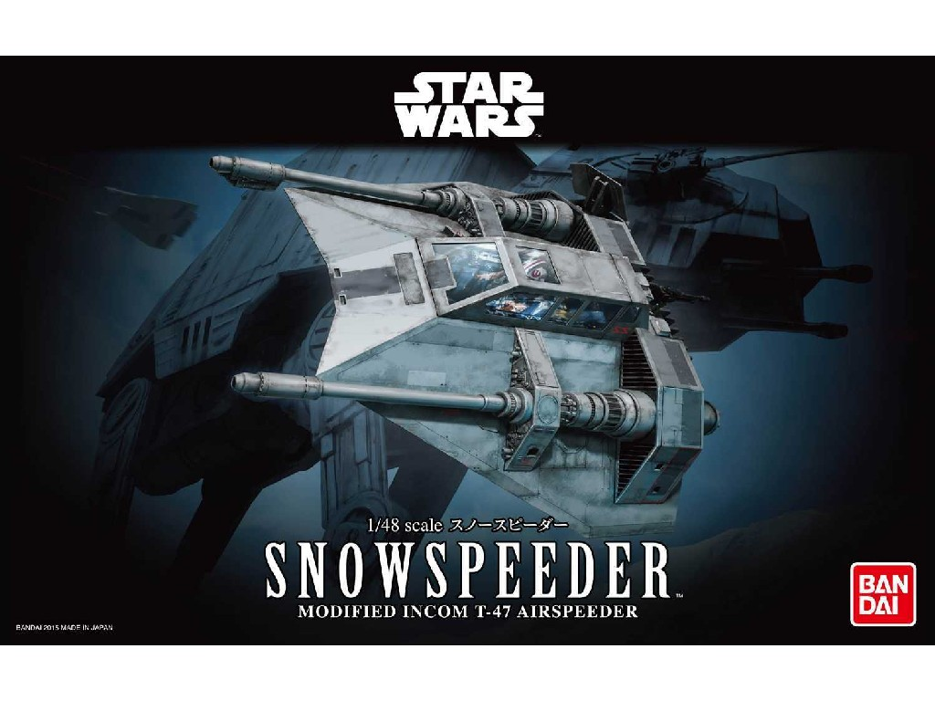 1/48 Plastikový model - Bandai SW 01203 - Snowspeeder