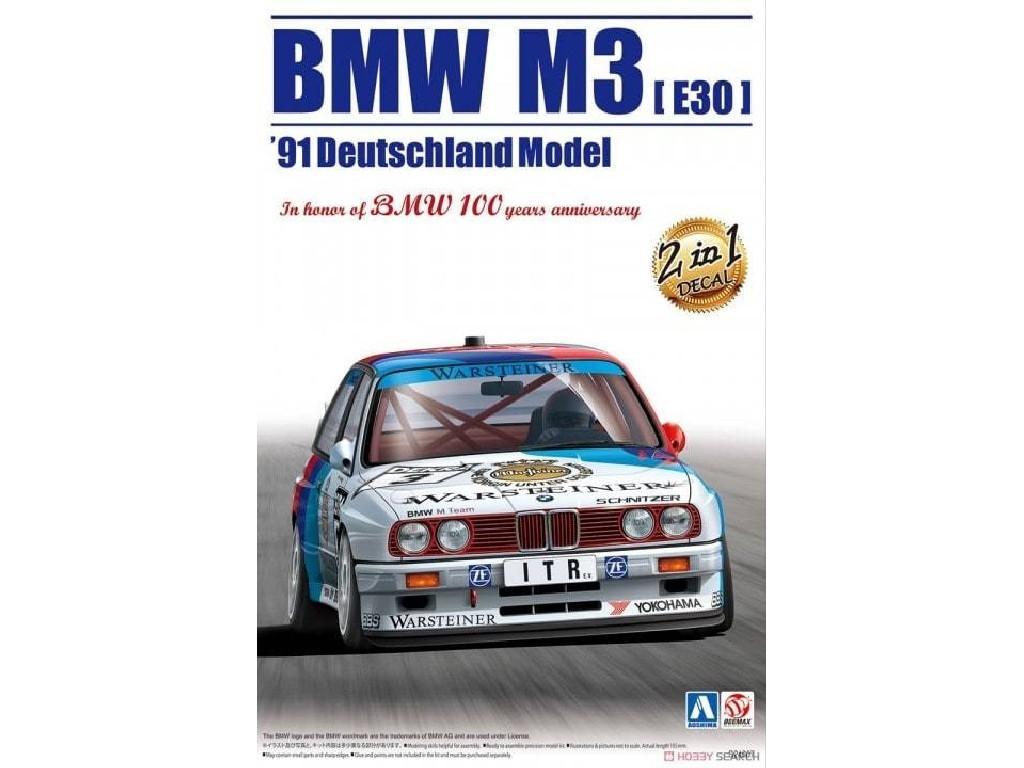 1/24 BMW M3 e30 1991 Deutschland