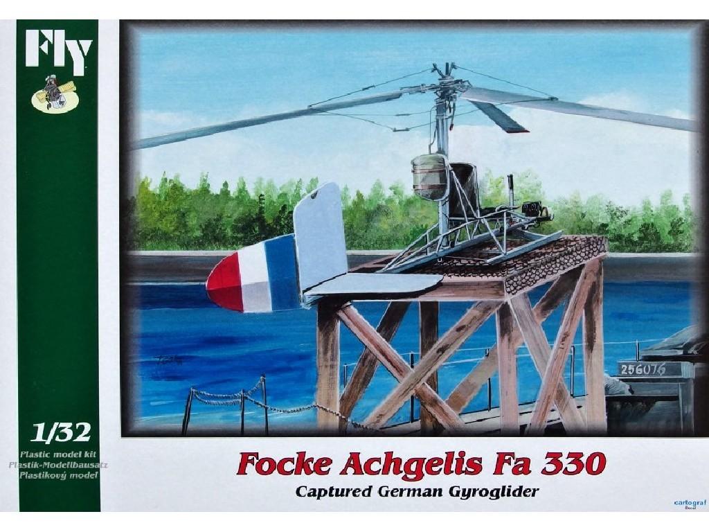 1/32 Plastikový model - Focke Achgelis Fa 330 - Captured Gyroglider