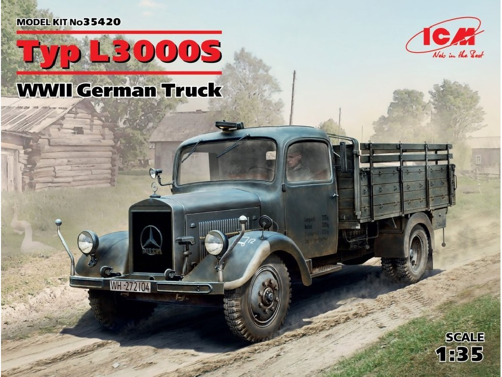 1/35 Plastikový model - Typ L3000S German WWII Truck