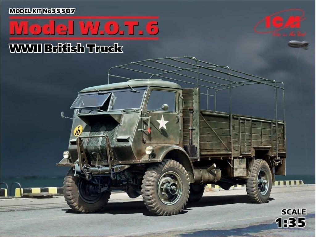 1/35 Plastikový model - Model W.O.T. 6 British Truck WWII