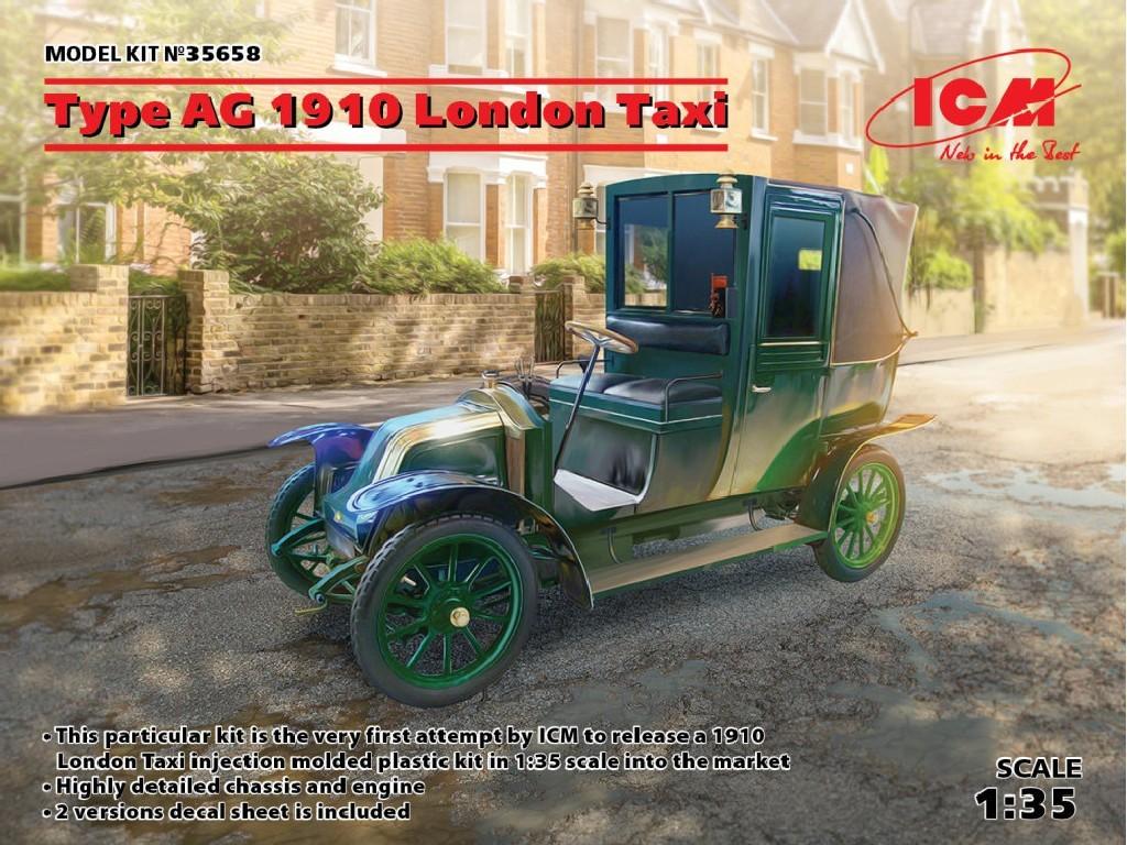 1/35 Plastikový model - Type AG 1910 London Taxi