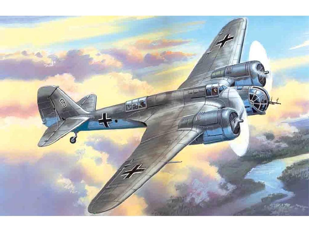 1/72 Plastikový model - Avia B-71 German WWII Bomber