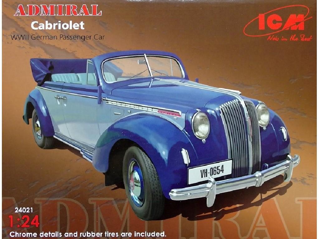 1/24 ADMIRAL Cabriolet (German Passenger Car)