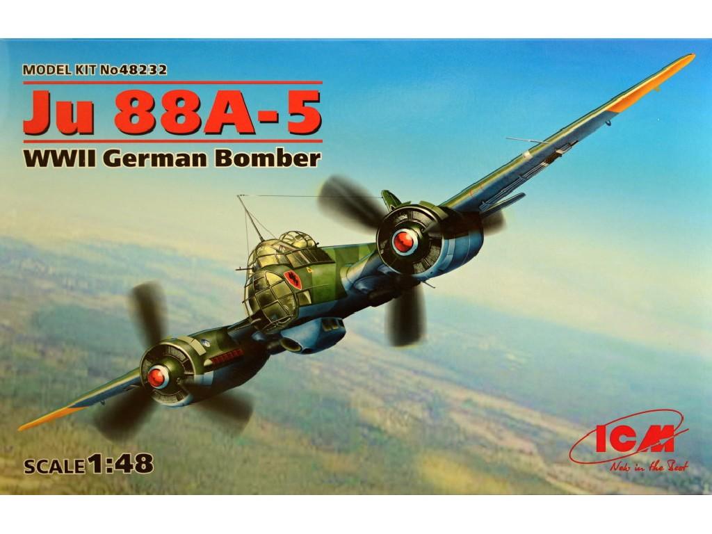 1/48 Junkers Ju 88A-5 German WWII