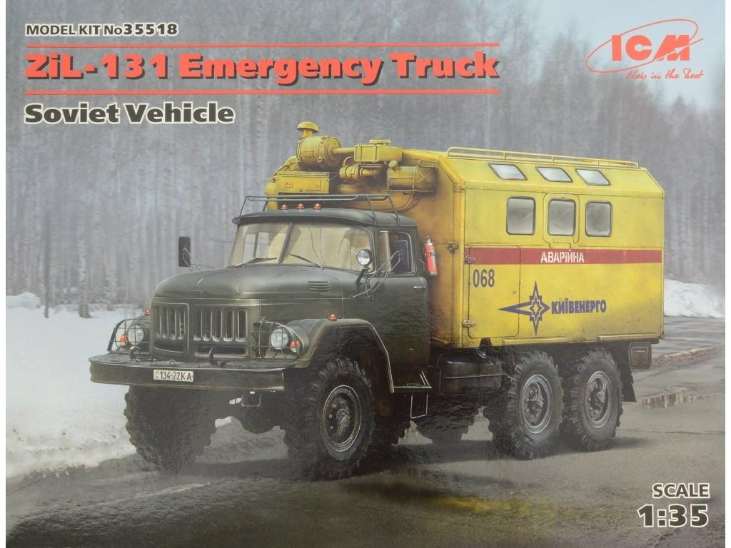 1/35 ZiL-131 Emergency Truck, Soviet Vehicle