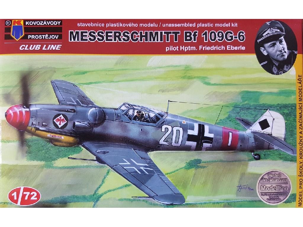 1/72 Messerschmitt Bf 109G-6 Eberle reed.