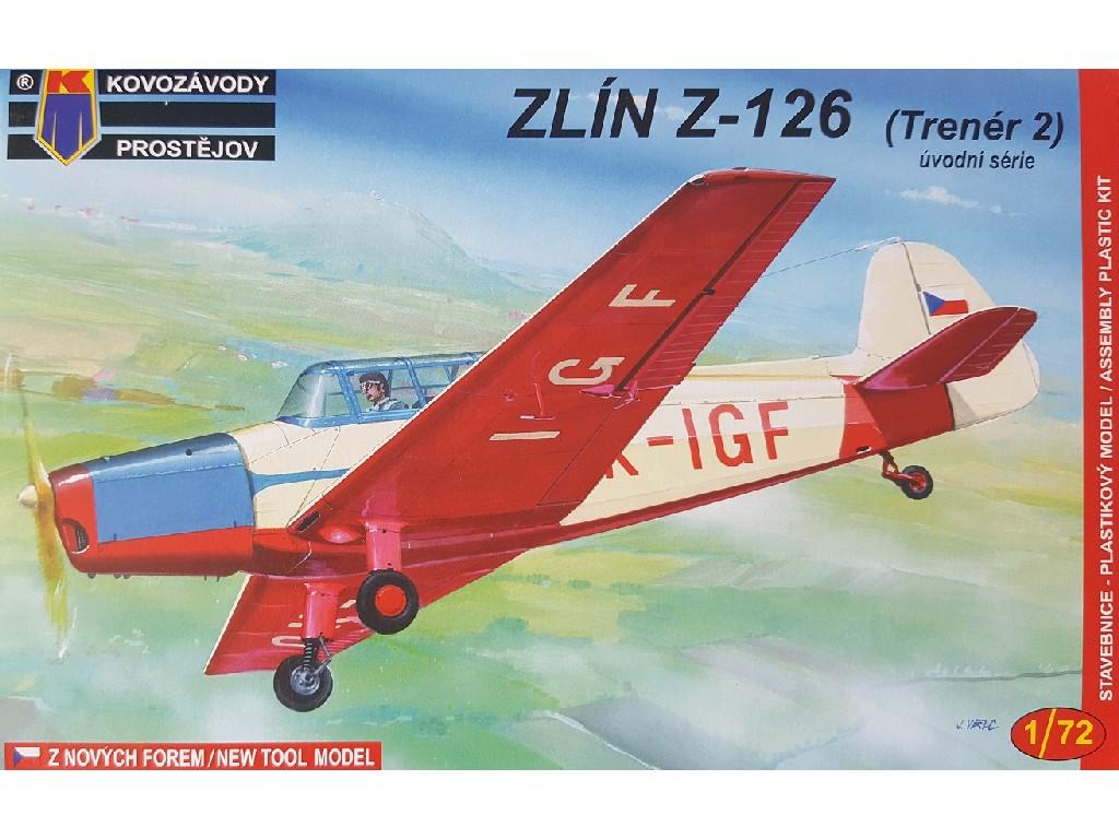 1/72 Zlin Z-126 Early
