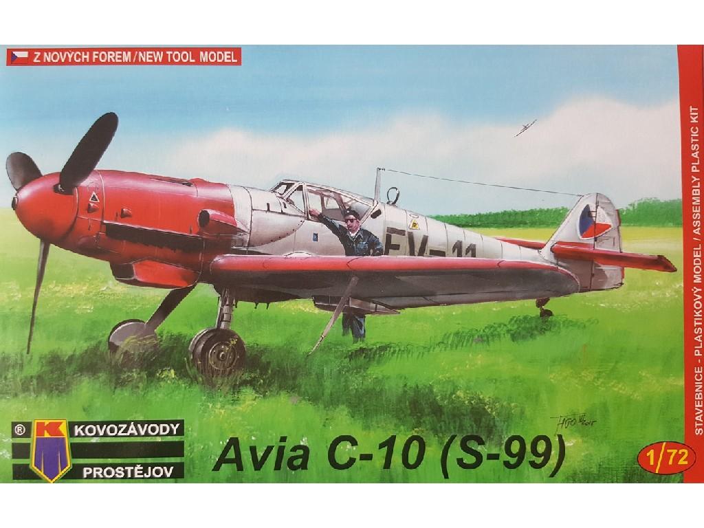1/72 Avia C-10/S-99 cz.b. Bf 109G-10
