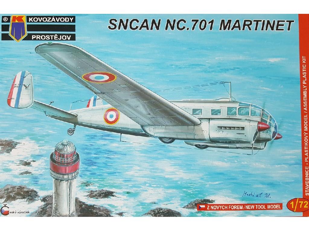 1/72 NC.701 Martinet Fr,Pol,Swe