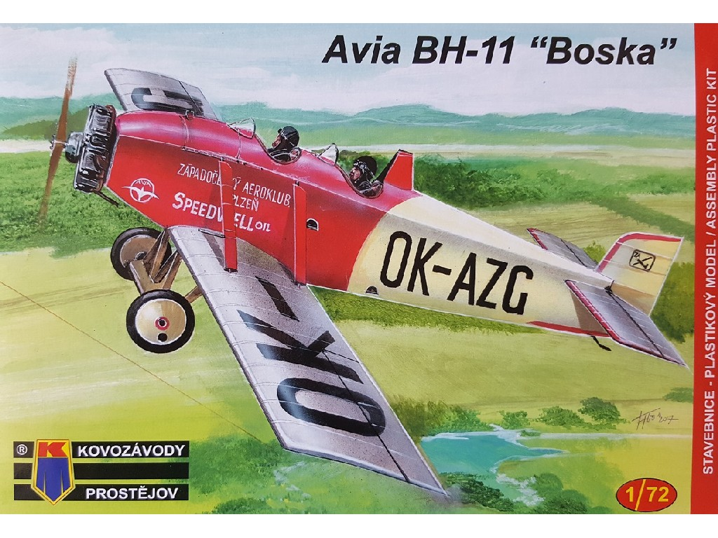1/72 Avia BH-11 Civilian
