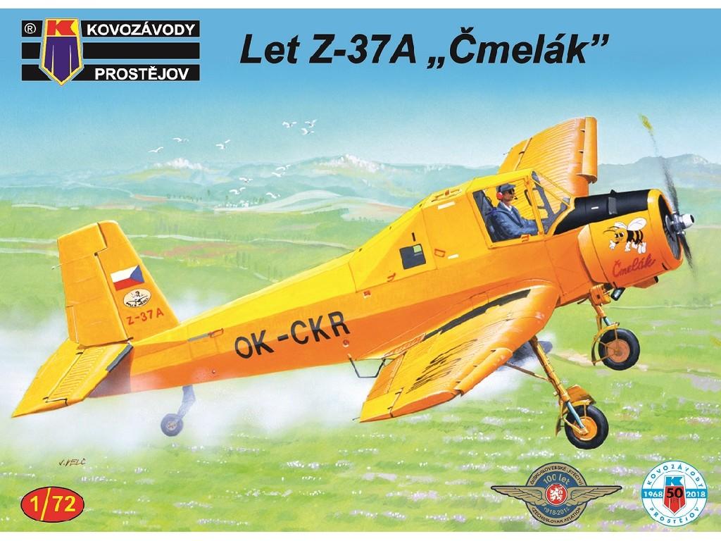 1/72 Z-37A Čmelák 2xCz, Hun