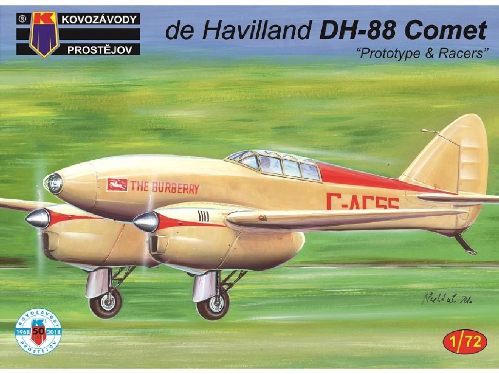 1/72 DH-88 Comet Prototypes/Racers