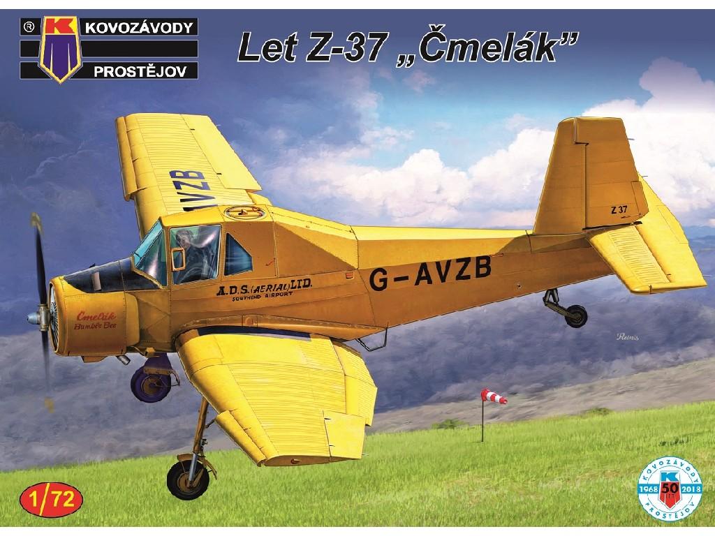 1/72 Z-37 Čmelák GB,CZ,FIN