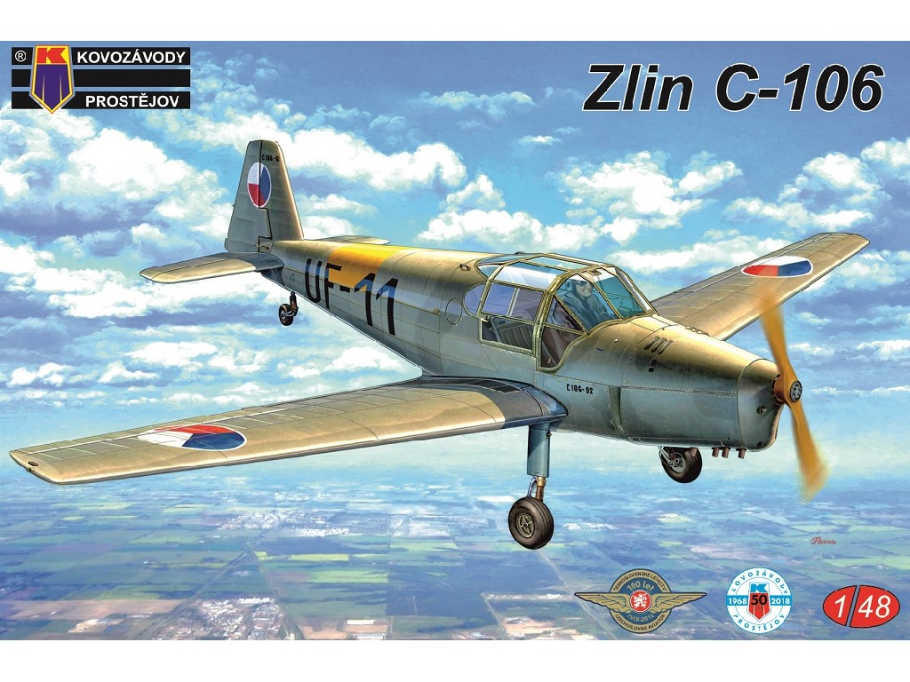 1/48 Zlin C-106 2xCZ, Hun, Egypt