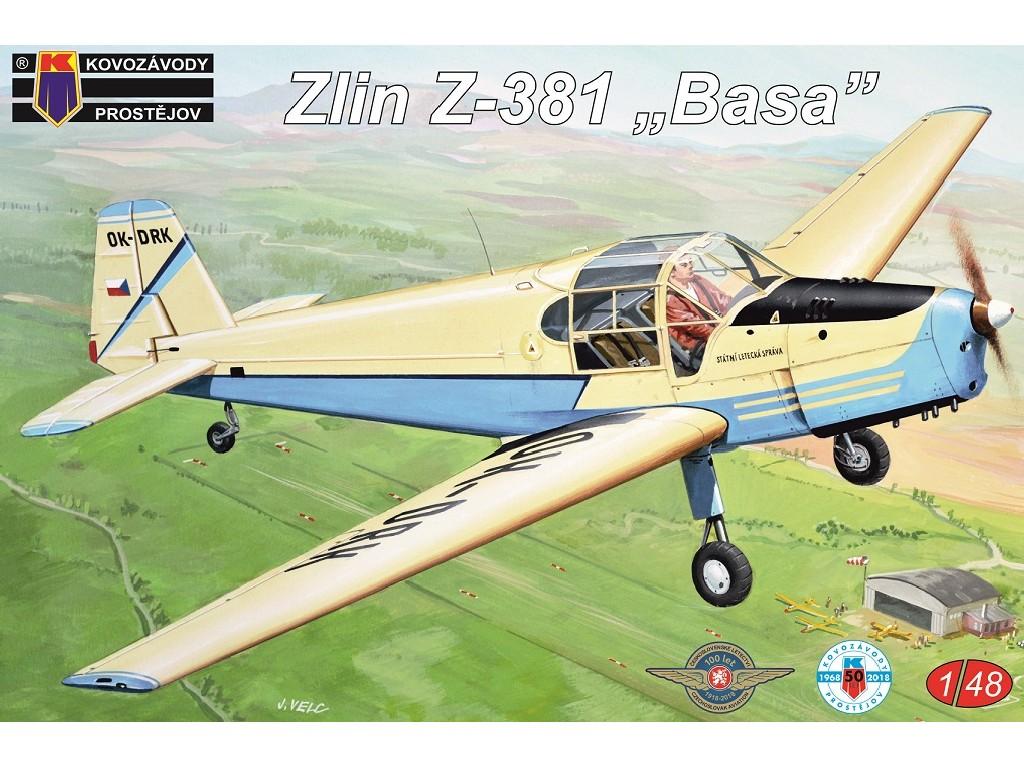 1/48 Zlin Z-381 Basa 2x Cz,Belgie,Swiss