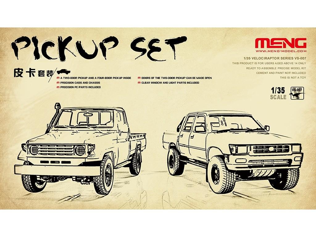 1/35 Pickup set