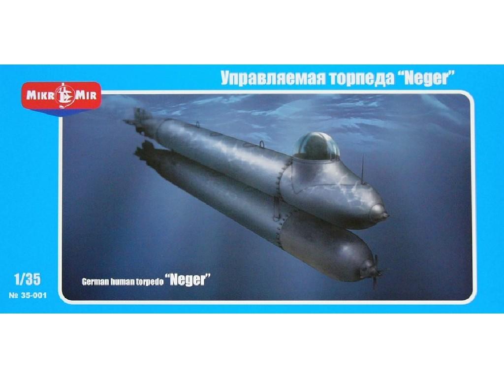 1/35 German human torpedo Neger