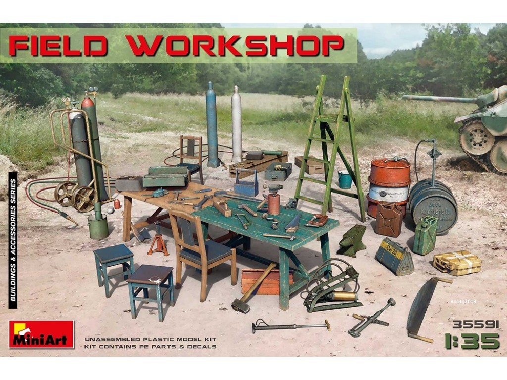 1/35 Plastikový model - Field Workshop (incl. PE and decals)