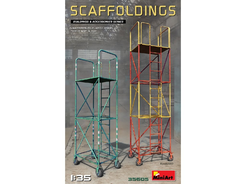 1/35 Plastikový model - Scaffoldings (plastic kit)