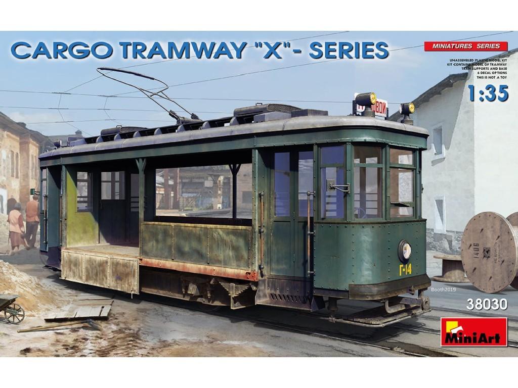 1/35 Plastikový model - Cargo Tramway X-Series (6x camo)