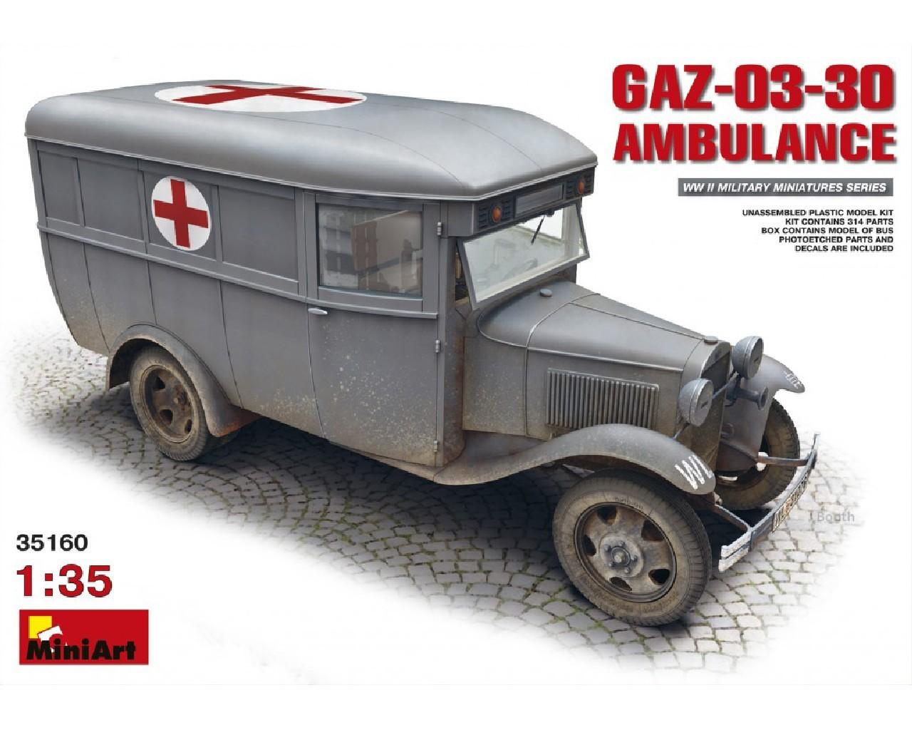1/35 GAZ-03-30 Ambulance