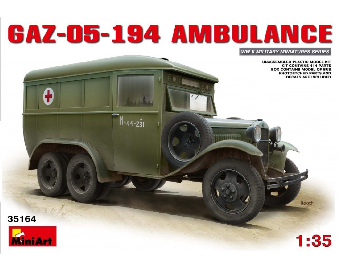 1/35 GAZ-05-194 Ambulance