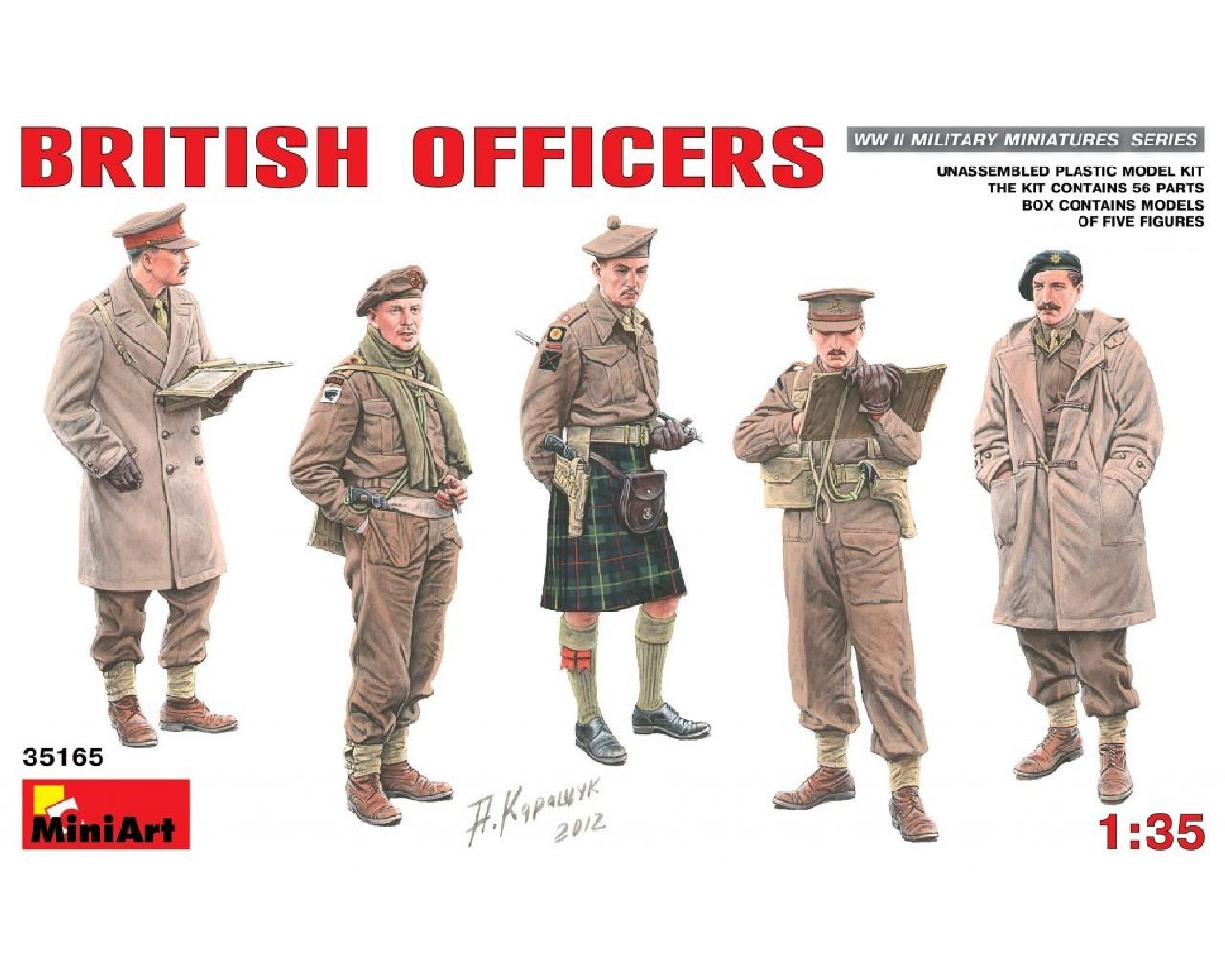 1/35 British Officers