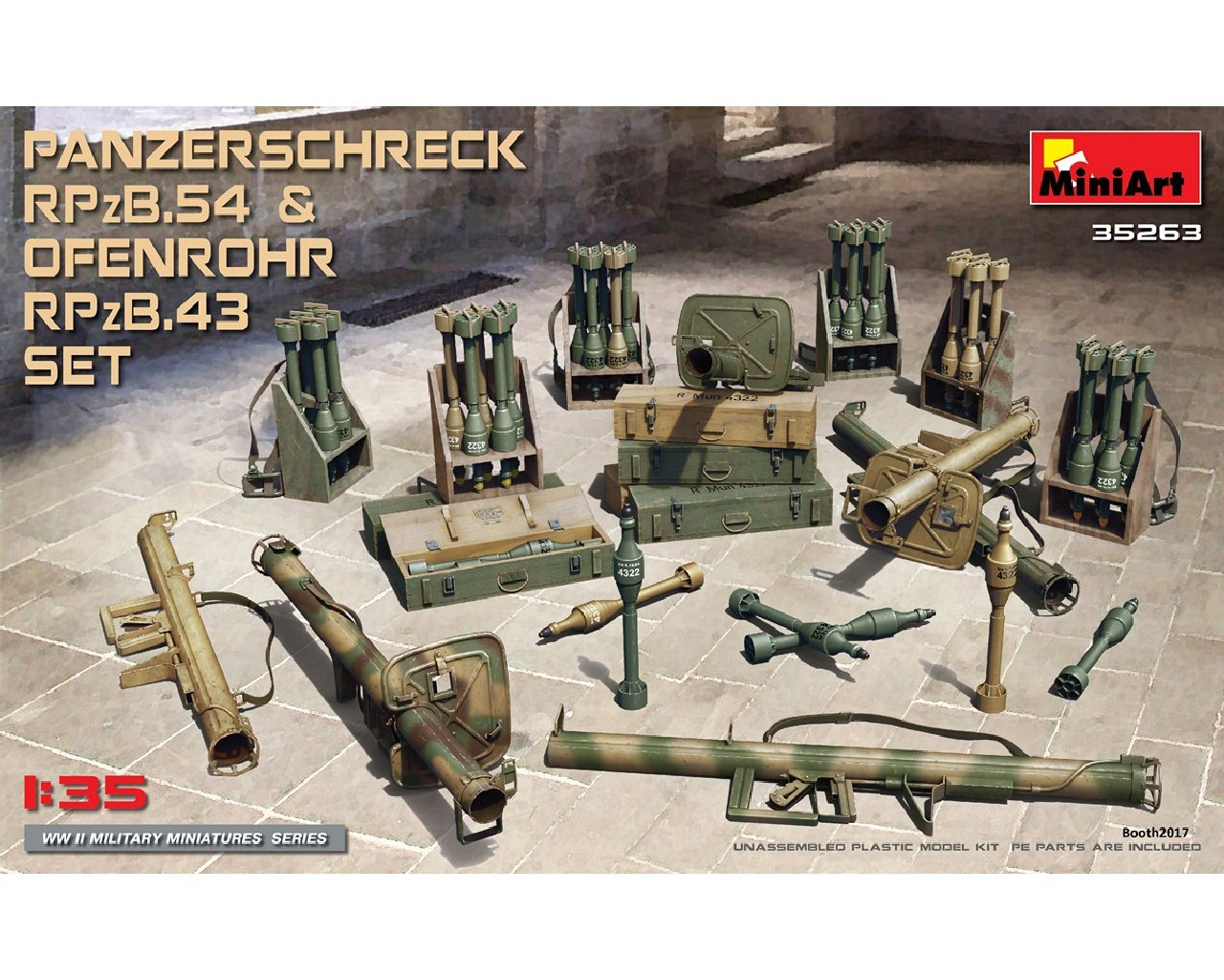 1/35 Panzerschreck RPzB.54 and Ofenrohr RPzB.43 Set