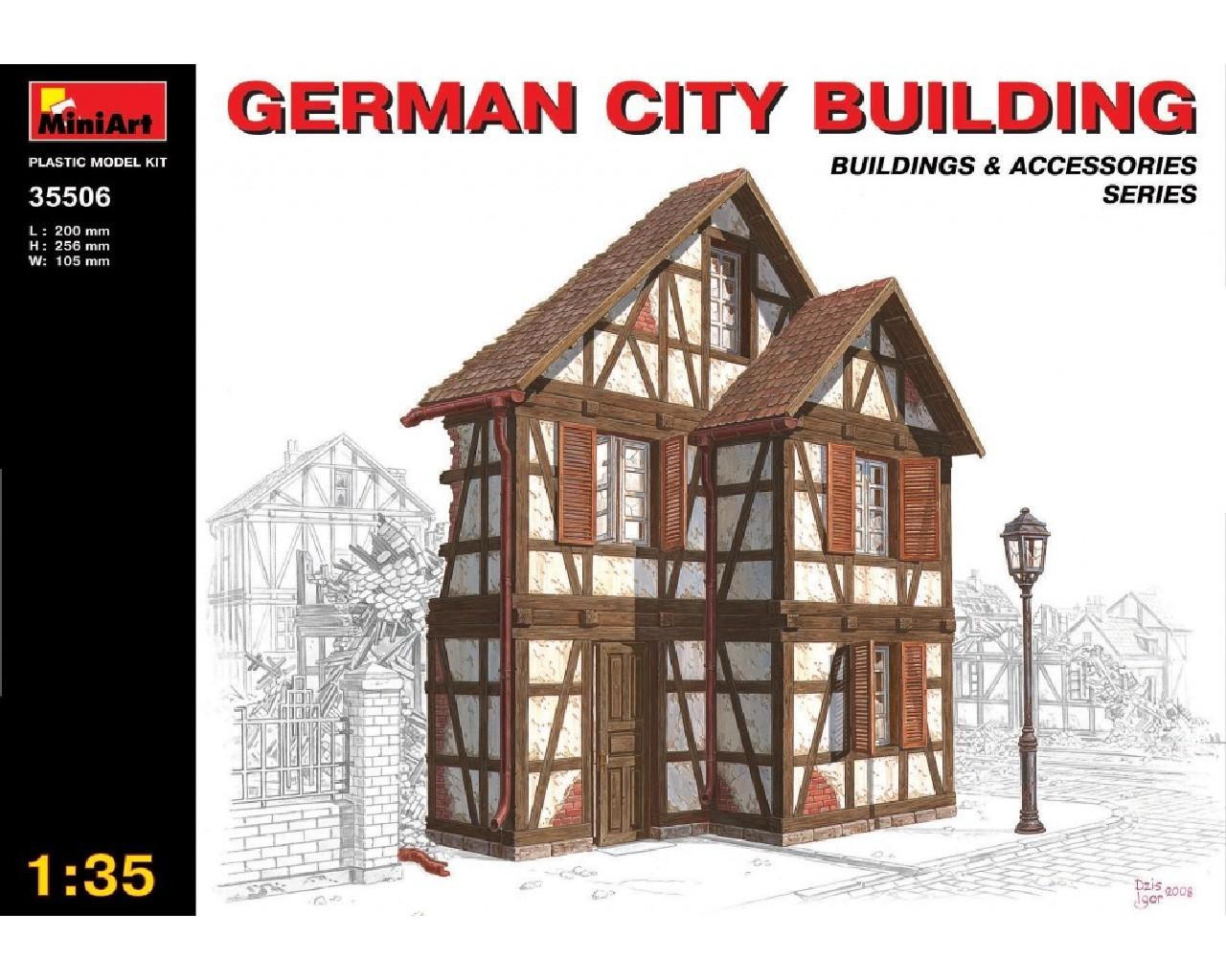 1/35 German City Building