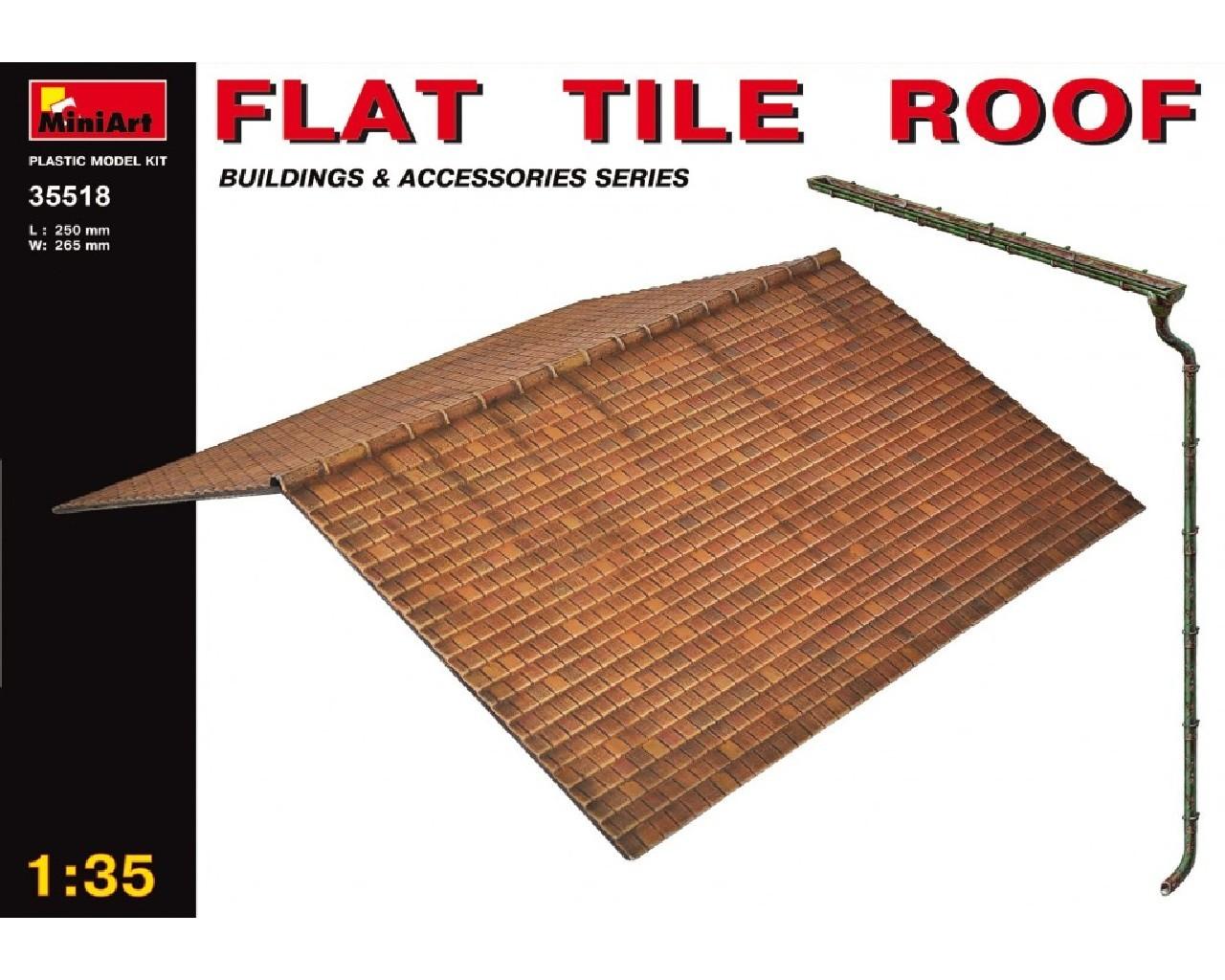 1/35 Flat Tile Roof