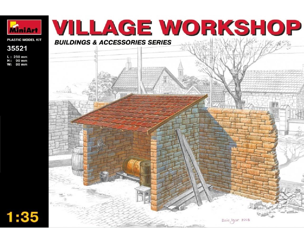 1/35 Village Workshop