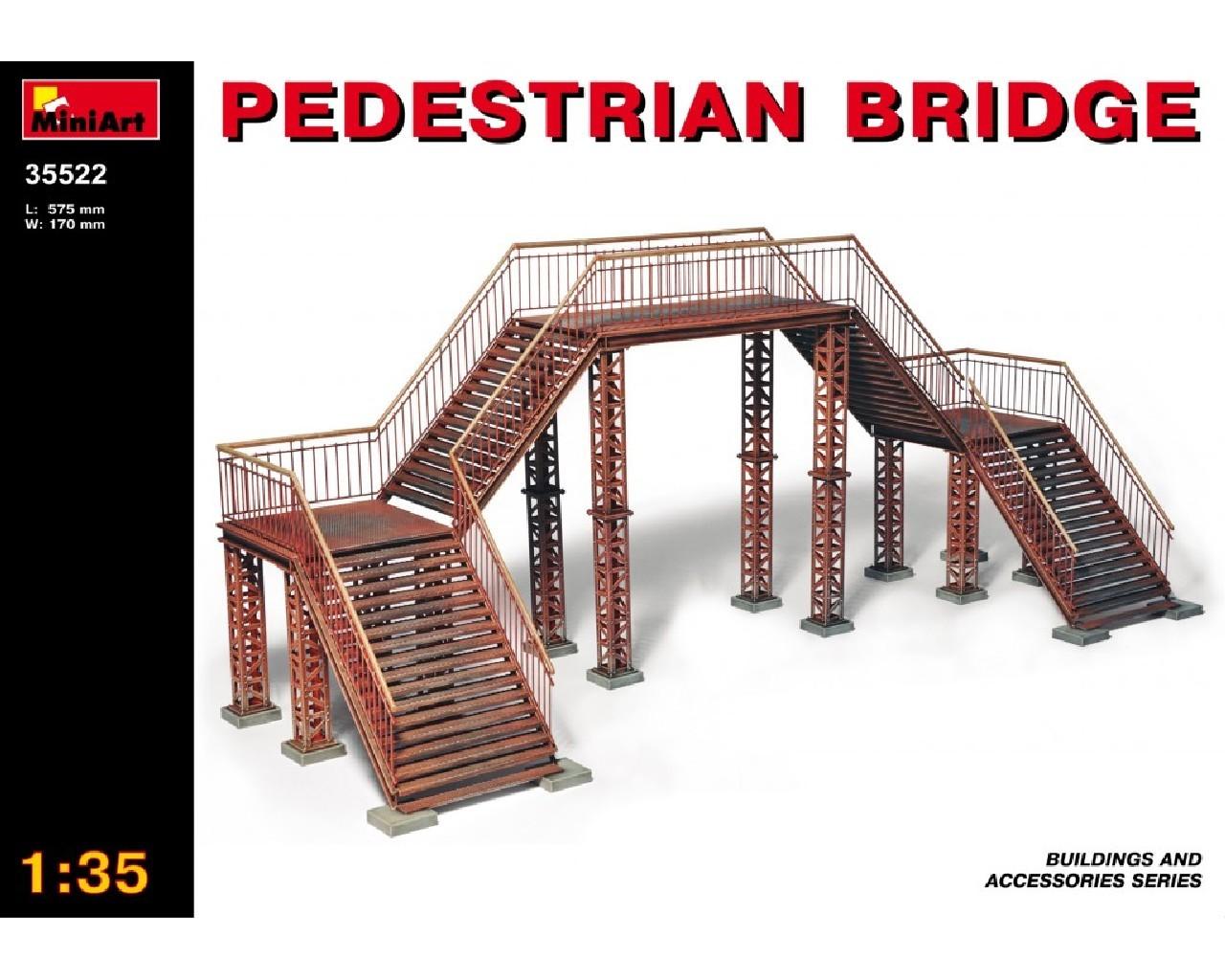 1/35 Pedestrian Bridge