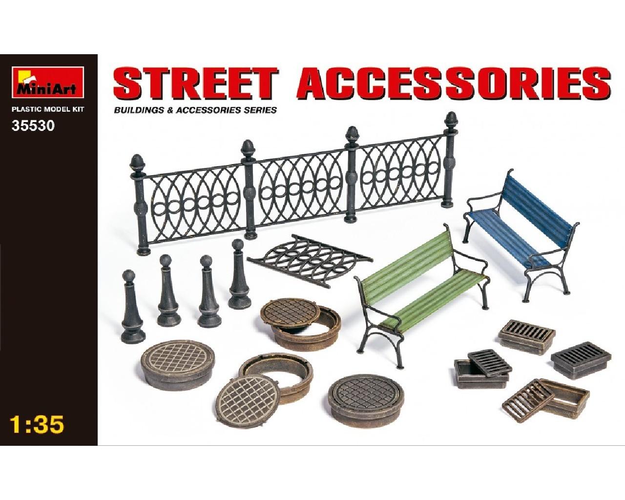 1/35 Street Accessories