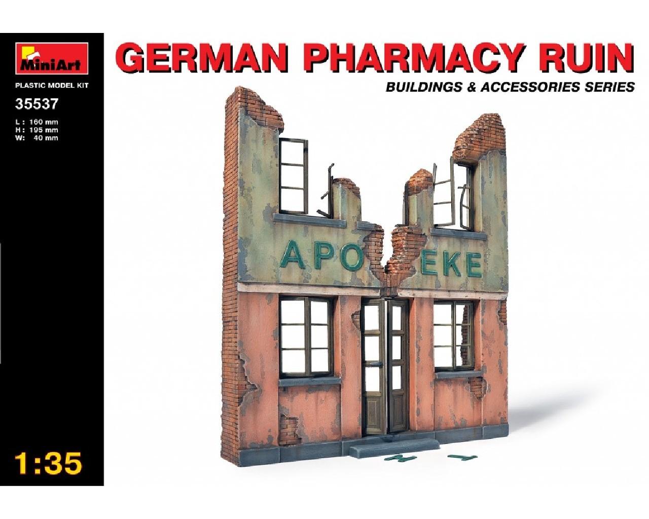 1/35 German Pharmacy Ruin