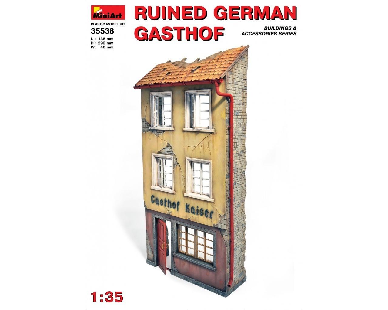 1/35 Ruined German Gasthof