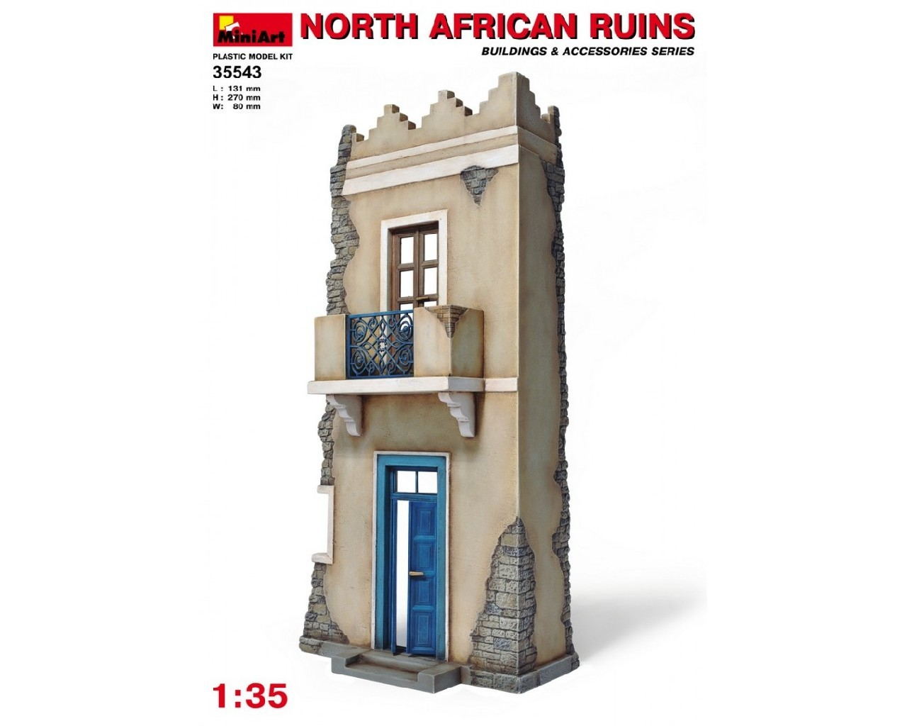 1/35  North African Ruins