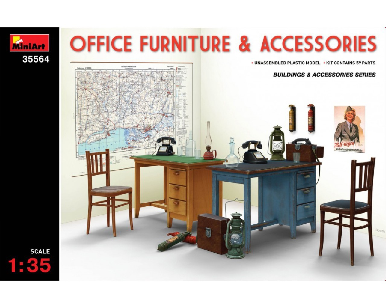 1/35  Office Furniture and Accessories