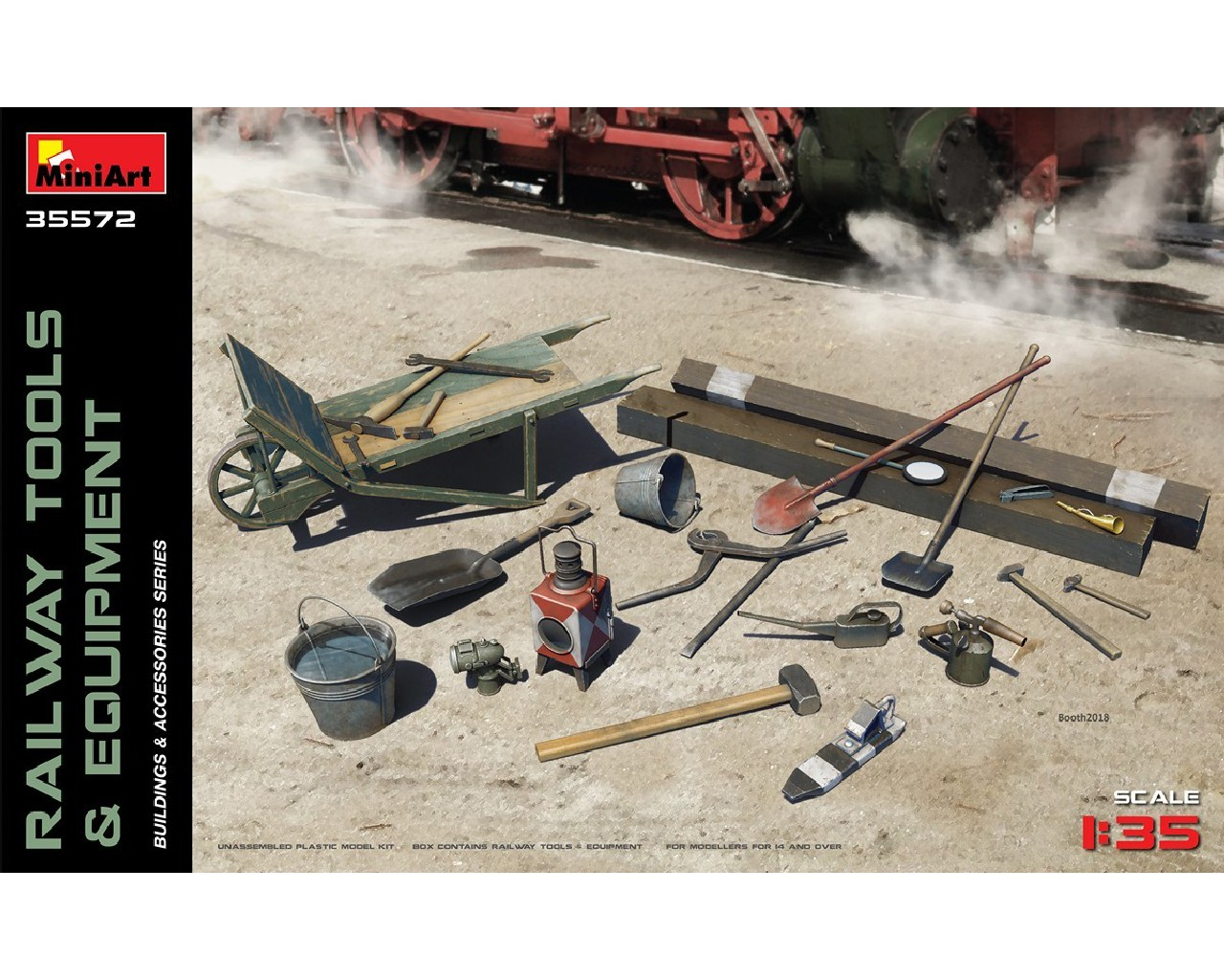 1/35 Railway Tools and Equipment