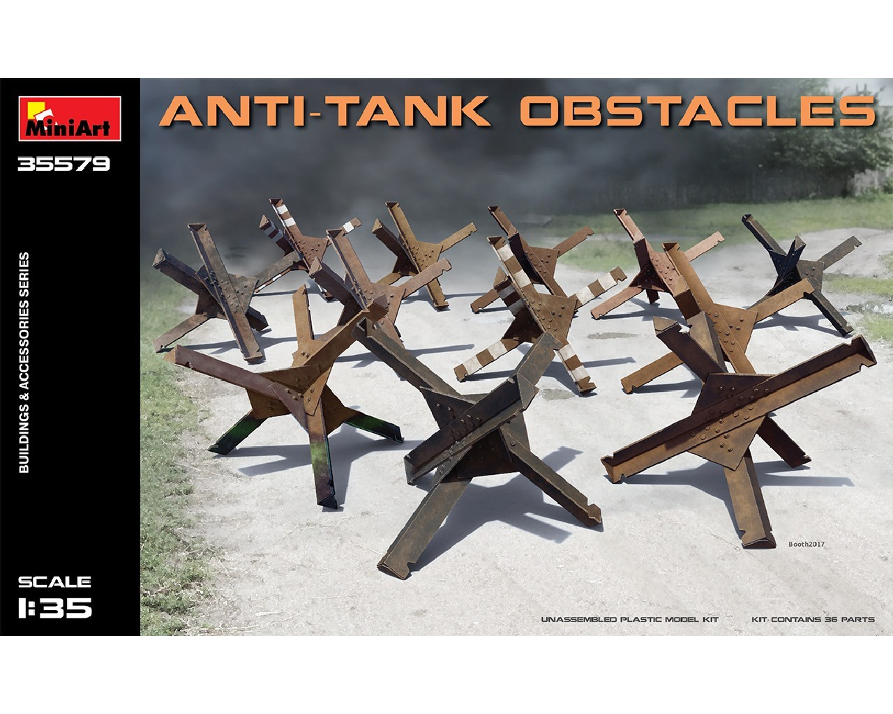 1/35 Anti-tank Obstacles