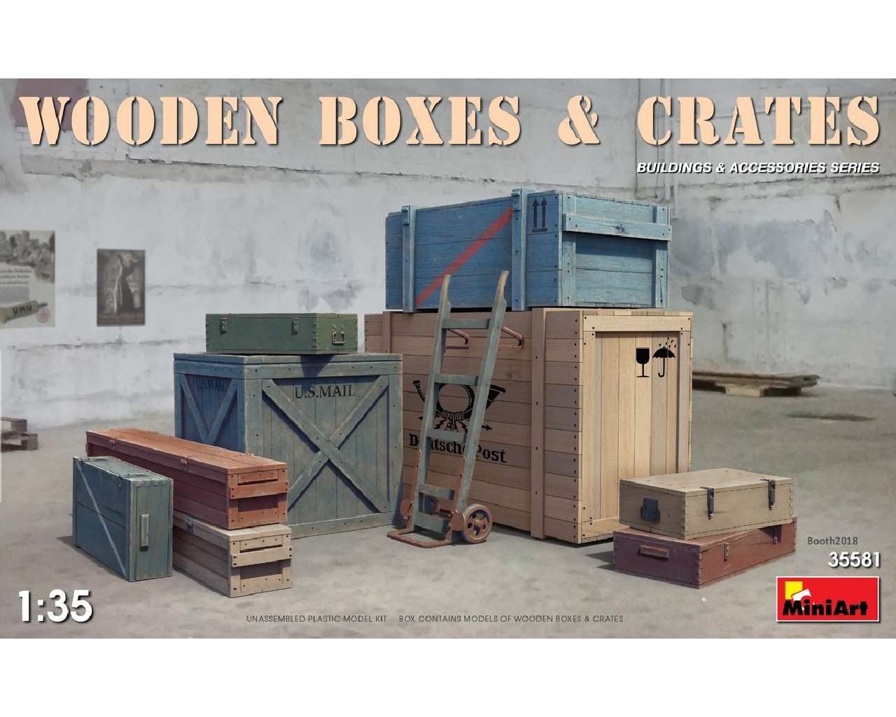 1/35 Wooden Boxes and Crates