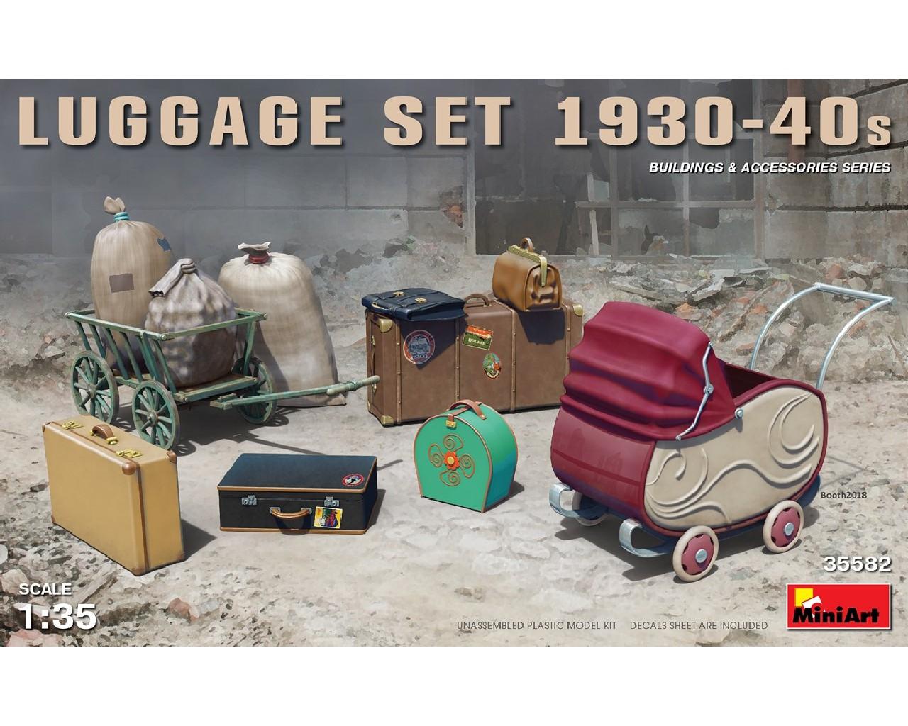 1/35 Luggage Set 1930-40s