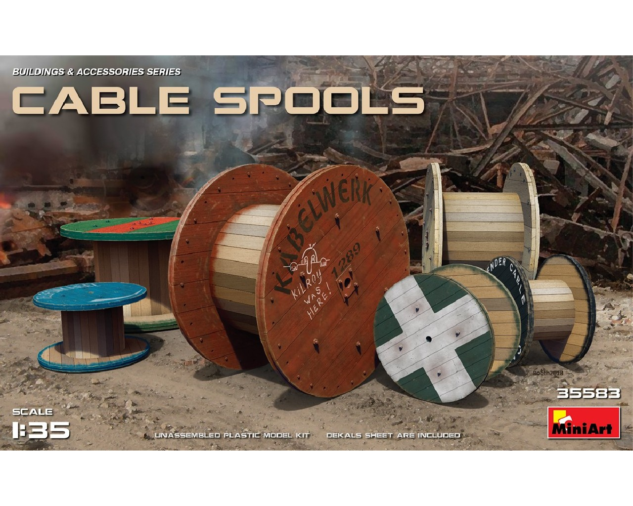1/35 Cable Spools