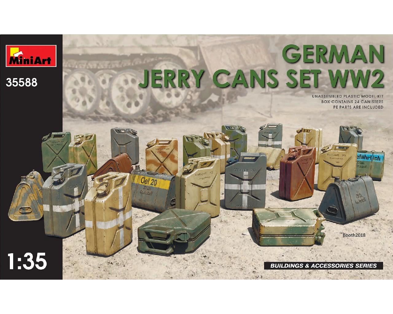 1/35 German Jerry Cans Set WW2