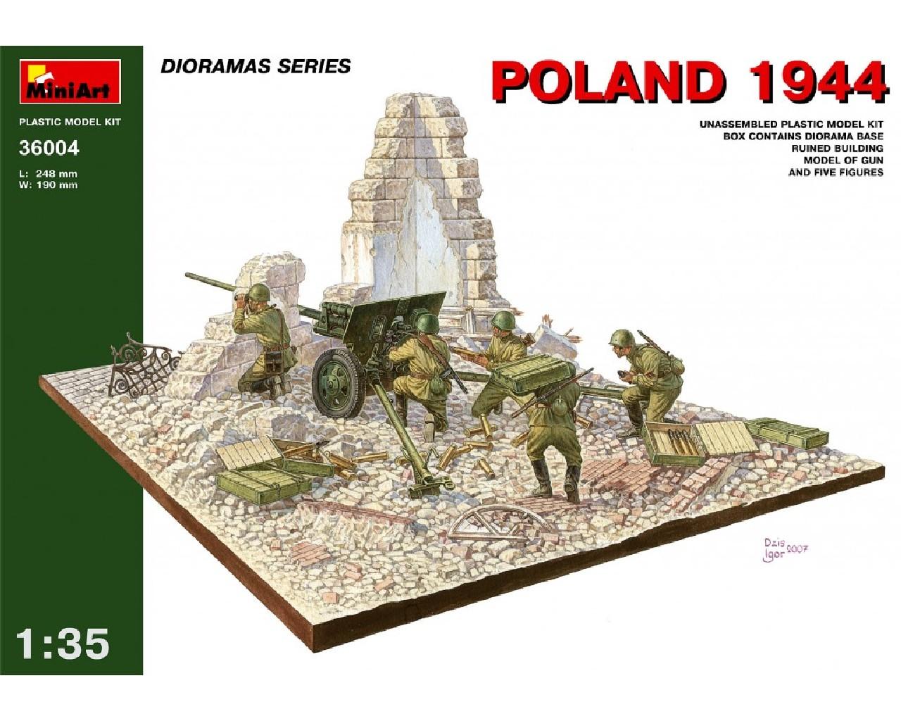 1/35 Poland 1944. Soviet Artillery