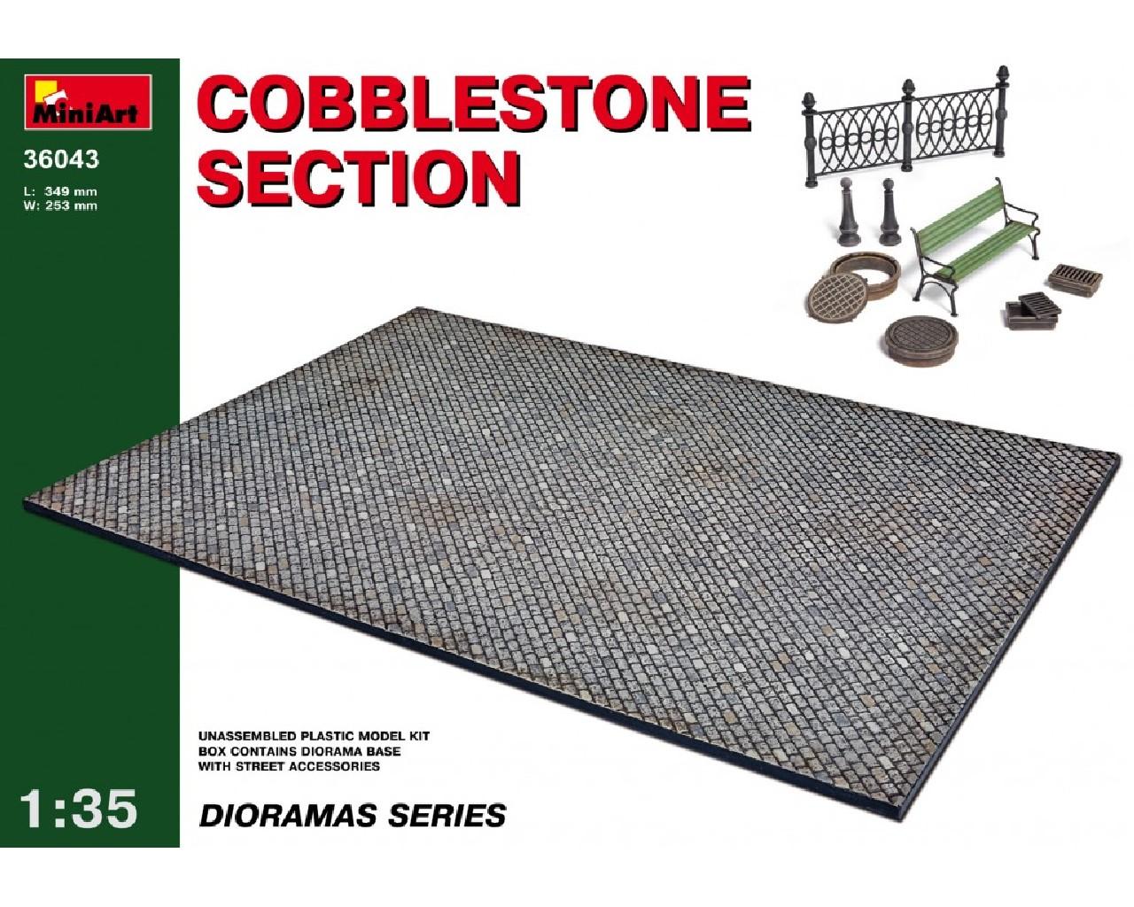 1/35  Cobblestone section