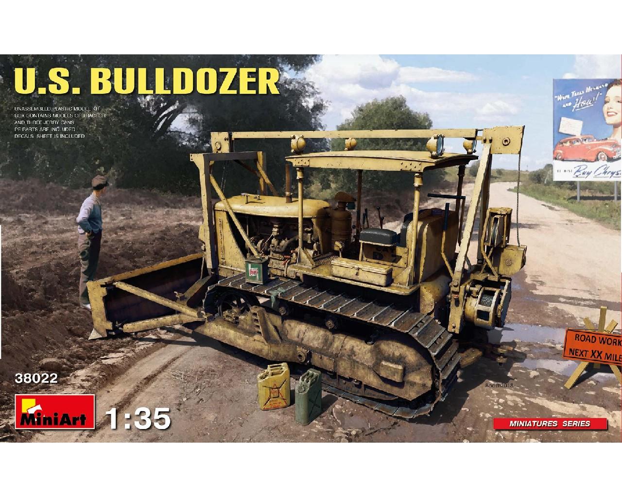 1/35 U.S. Bulldozer