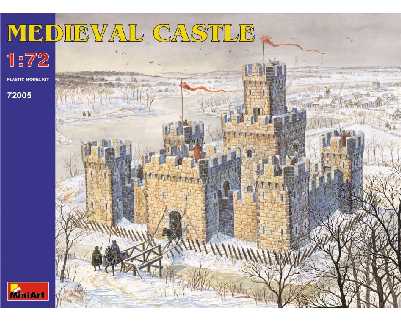 1/72 Medieval Castle